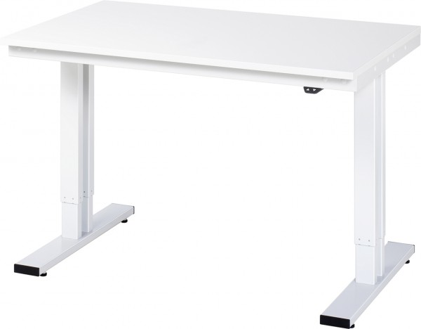 Werktisch Serie adlatus 300 mit EGB-Melaminharzplatte